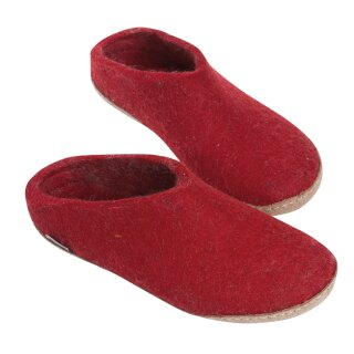 Pantoffel - Slipper red 48